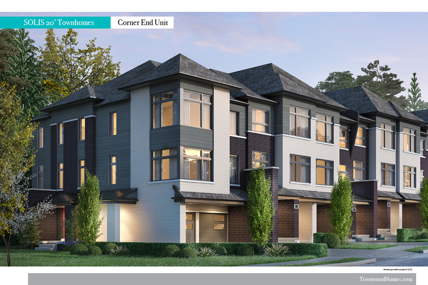 Townhomes Exterior