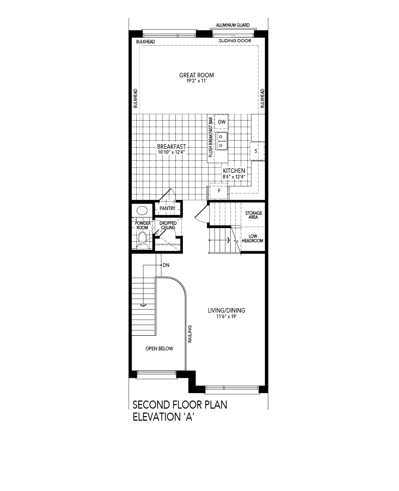 SOLIS 1 Second level Floor Plan