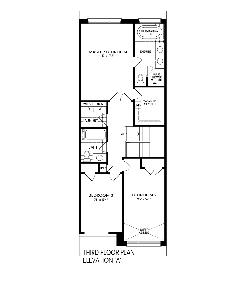 SOLIS 1 Third level Floor Plan