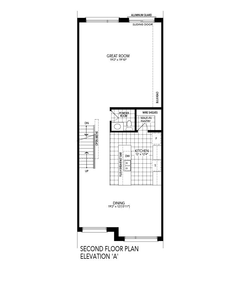 SOLIS 2 Second level Floor Plan