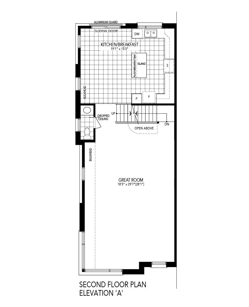 SOLIS 3 Corner End Second level Floor Plan