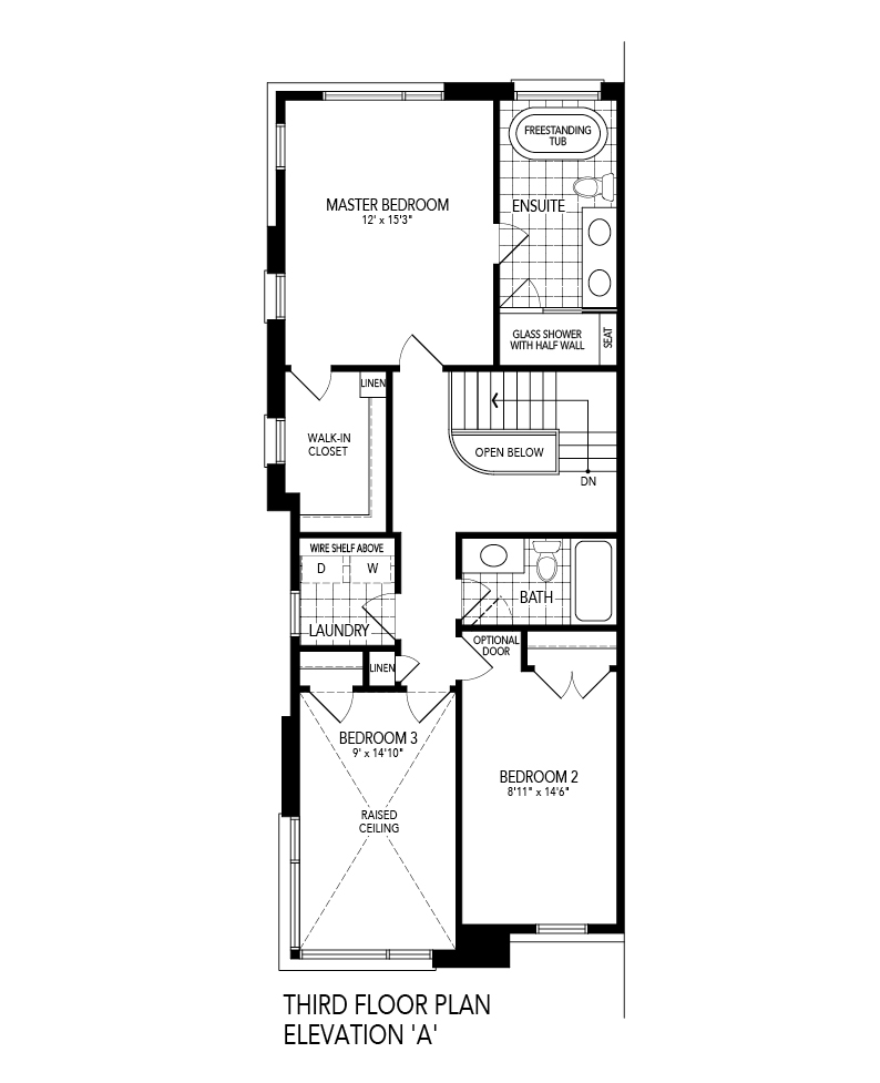 SOLIS 3 Corner End Third Level Floor Plan