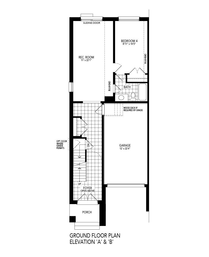 Ground Level Floorplan