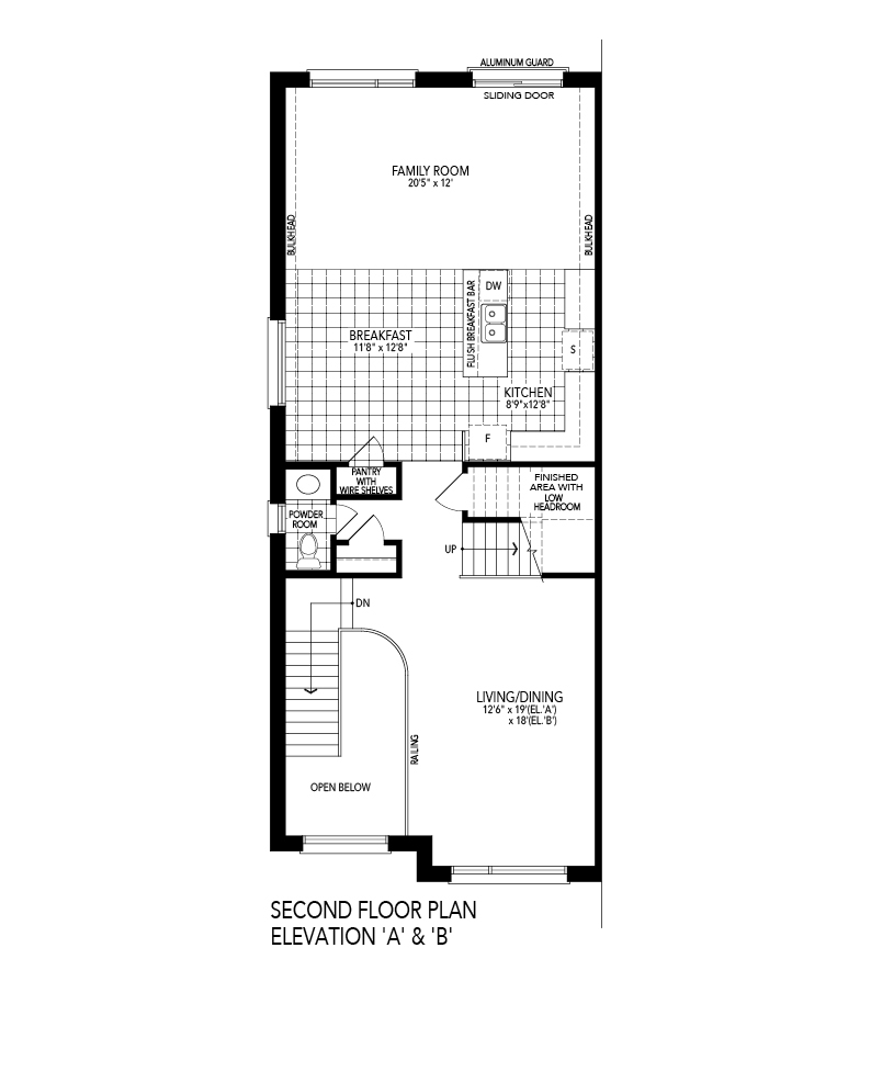 Second Level Floorplan