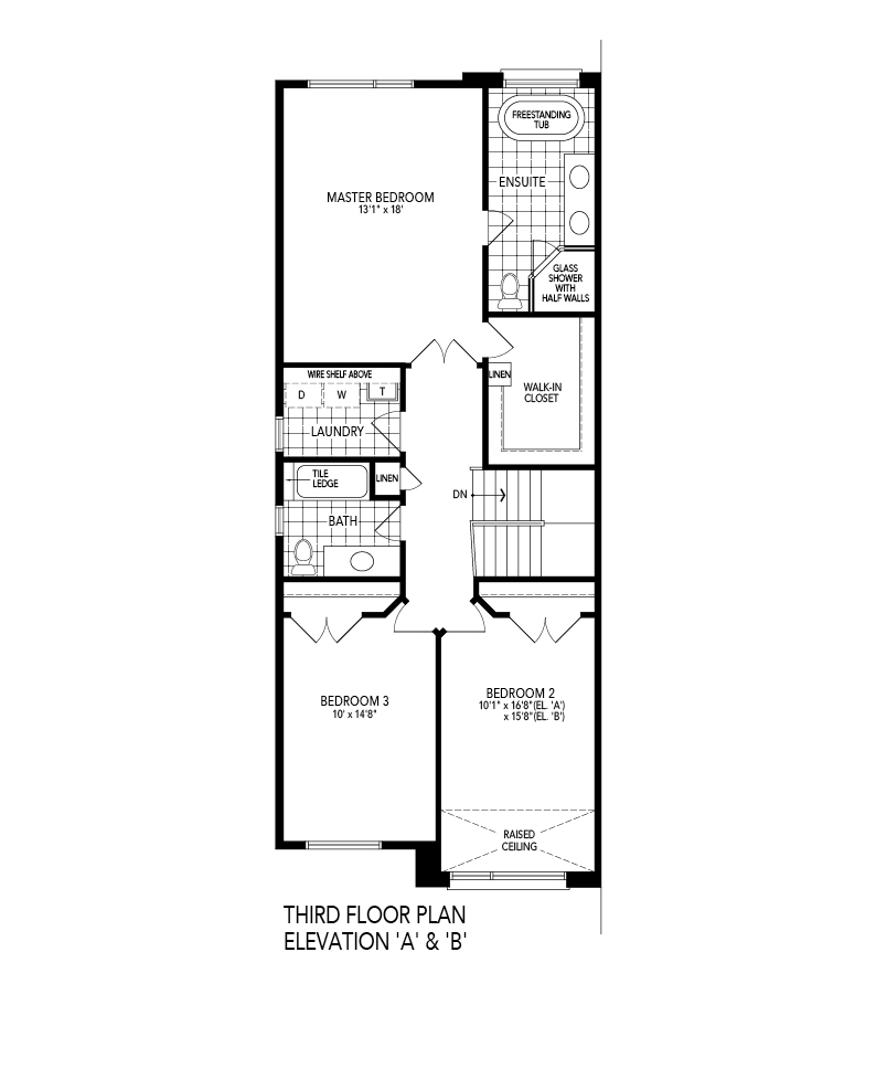Third Level Floorplan