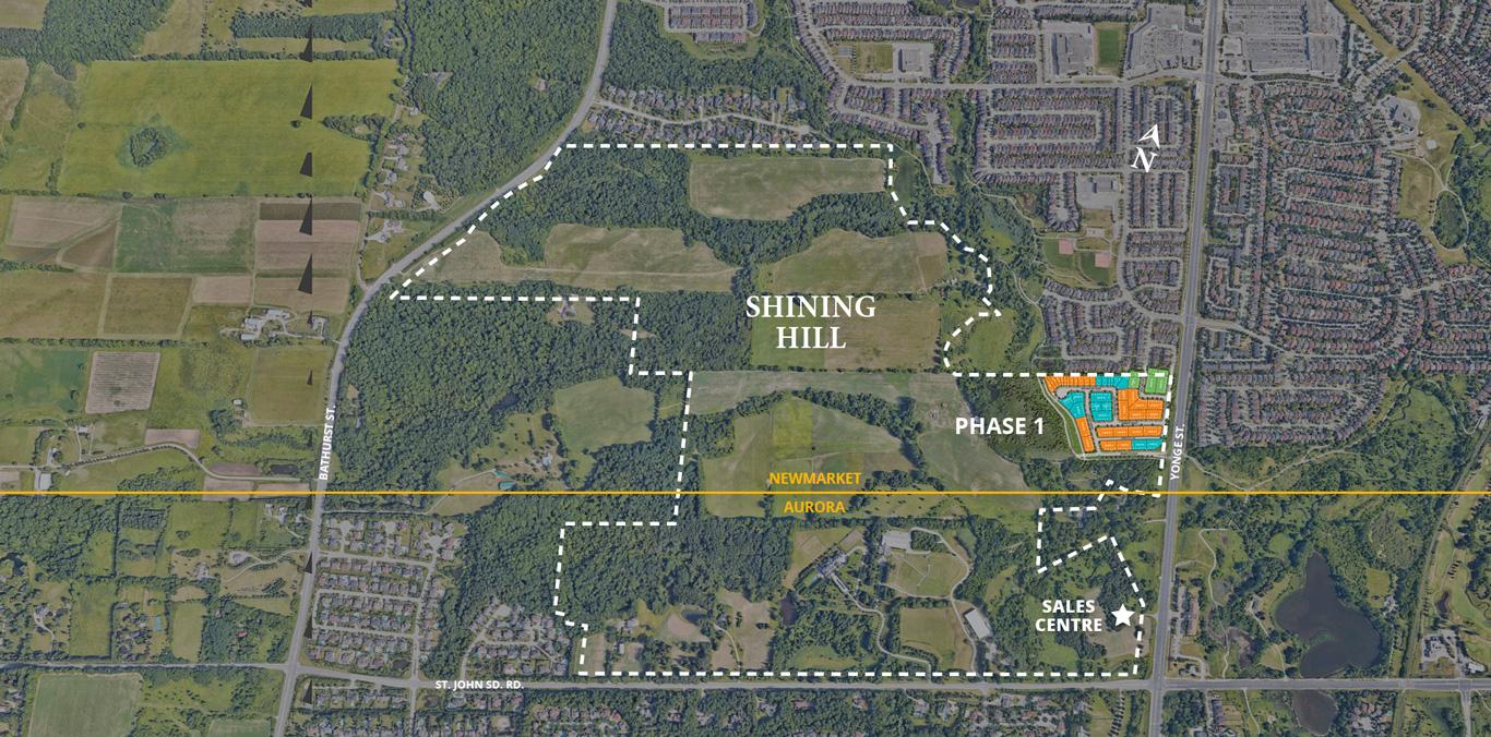 NewMarket- Aurora Siteplan Aerial View