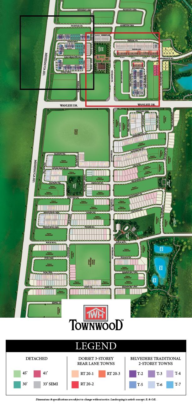 Townwood Site Plan